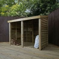 See more information about the Mercia 3 x 6 Pent Double Log Store - Windowless