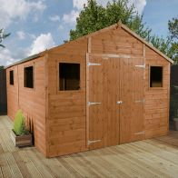 See more information about the Mercia 16 x 10 Premium Double Door Shiplap Apex Workshop