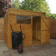 See more information about the Mercia 8 x 6 Overlap Pent Shed