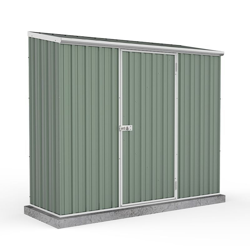 Mercia 7 x 3 Absco Pent Shed - Pale Eucalyptus