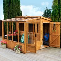 See more information about the Mercia 8 x 8 Combi Shiplap Pent Shed