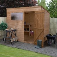 See more information about the Mercia 8 x 6 Shiplap Pent Shed
