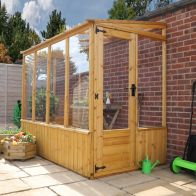 See more information about the Mercia 8 x 4 Shiplap Pent Greenhouse
