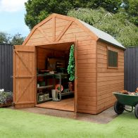 See more information about the Mercia 8 x 8 Premium Shiplap Dutch Barn Shed