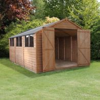 See more information about the Mercia 15 x 10 Double Door Overlap Apex Shed