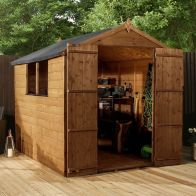 See more information about the Mercia 8 x 6 Double Door Shiplap Apex Shed
