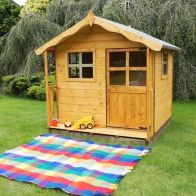 See more information about the Mercia 5 x 5 Poppy Shiplap Apex Single Storey Playhouse