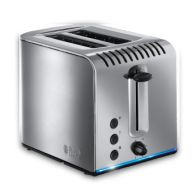 See more information about the Russell Hobbs Buckingham 2 Slice Toaster - Stainless Steel