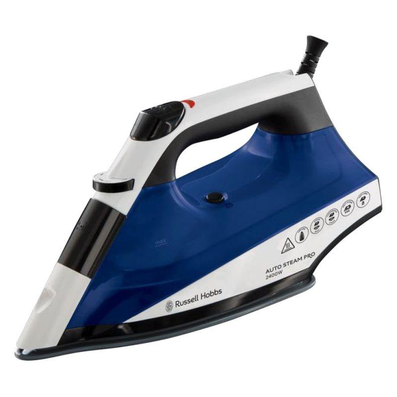 Russell Hobbs Auto Steam Iron 2 4kw Blue White Buy