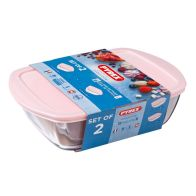 See more information about the Pyrex 2 Piece Candy Storage Set - Pink
