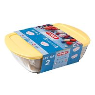 See more information about the Pyrex 2 Piece Candy Storage Set - Yellow