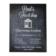 See more information about the Vintage Dad's Plaque (42cm x 31cm)