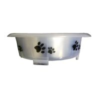 See more information about the Happy Pet Fusion Dog Bowl 21cm - White