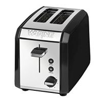 See more information about the Waring 2 Slice Toaster- Polished Steel & Black