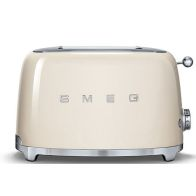 See more information about the Smeg Retro 2 Slice Toaster - Cream