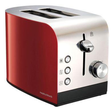Equip 2 Slice Toaster Red