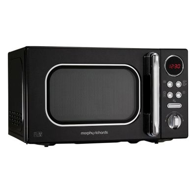 Morphy Richards Accents Microwave 800W 20L Black