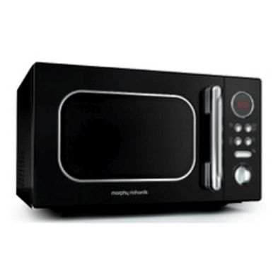 Morphy Richards Accents Microwave 800W 23L Black