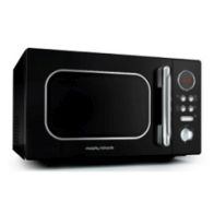 See more information about the Morphy Richards Accents Microwave 800W 23L Black