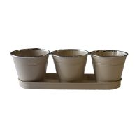 See more information about the Meadow Triple Pot Set - Beige