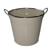 See more information about the 18cm Spring Meadow Flower Pot - Beige