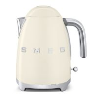 See more information about the Smeg 1.7 Litre Retro Style Kettle 3KW - Cream