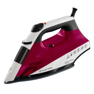 Image of Russell Hobbs Autosteam Iron 24.KW - Red