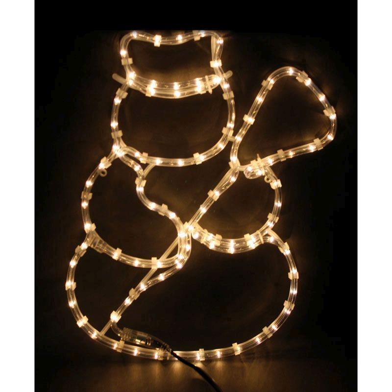 Snowman rope light static white led decoration buy online at qd stores snowman rope light static white led decoration aloadofball Images