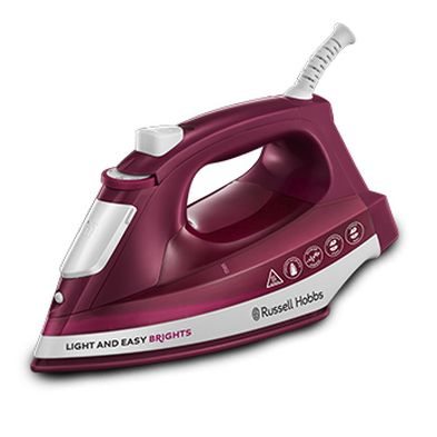 Image of Russell Hobbs Light Easy Brights Iron 2.4KW - Red