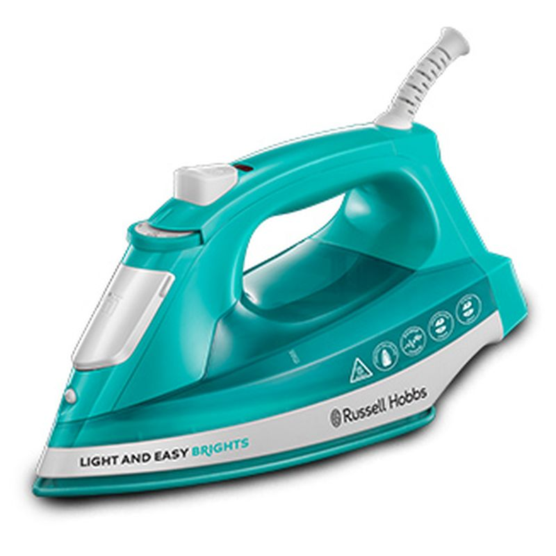 Russell Hobbs Light  Easy Brights Iron 2.4KW - Green