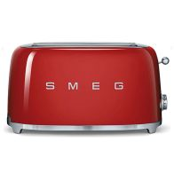 See more information about the Smeg Retro 4 Slice Toaster - Red