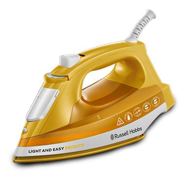 Image of Russell Hobbs Light Easy Brights Iron 2.4KW - Yellow
