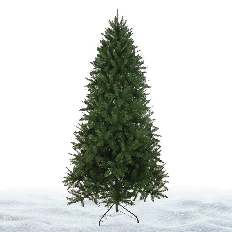 180cm (5 Foot 10 inch) Green Rockingham Pine 780 Tips Christmas Tree
