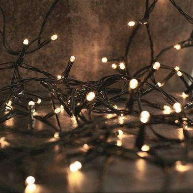 1000 LED Warm White String Christmas Tree Outdoor Lights