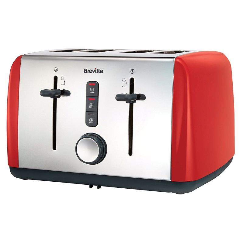 Breville Colour Collection 4 Slice Toaster - Red