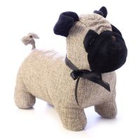 See more information about the Plaid Pug Design Door Stop