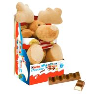 See more information about the Kinder Reindeer Fluffy Toy & Chocolate Minis 73g