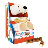 See more information about the Kinder Polar Bear Fluffy Toy & Choclate Minis 73g