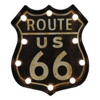 See more information about the Shield Plaque LED Plastic - US 66