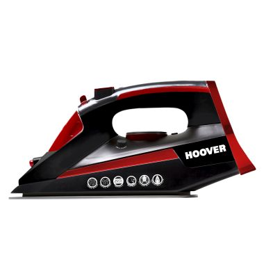 Image of Hoover Iron Jet Steam Iron 2.7KW - Black Red