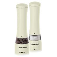 See more information about the Salt and Pepper Mill Set Cream