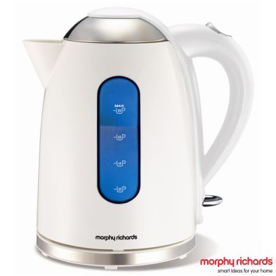Image of Morphy Richards 1.7 Litre Accents Dome Jug Kettle 3KW - White