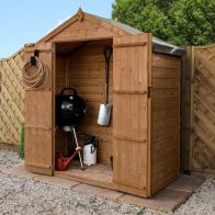 See more information about the Mercia 6 x 3 Shiplap Apex Shed - Windowless