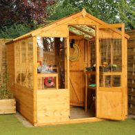 See more information about the Mercia 10 x 6 Combi Shiplap Apex Shed