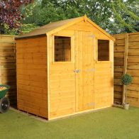 See more information about the Mercia 4 x 6 Shiplap Apex Shed