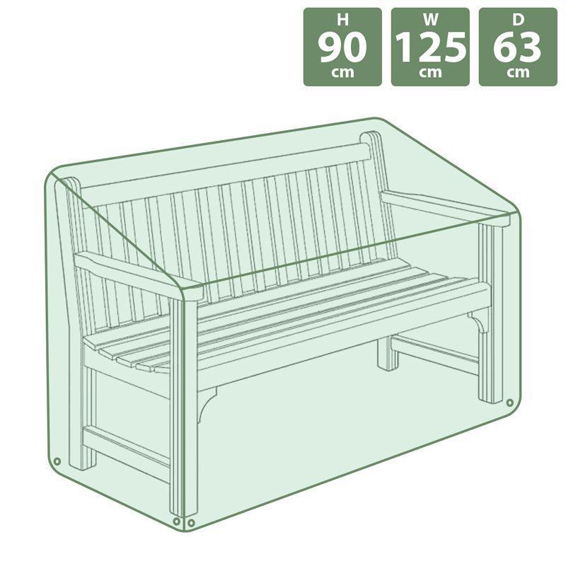 Strange Heavy Duty Garden Patio Furniture Bench Seat Waterproof Cover Machost Co Dining Chair Design Ideas Machostcouk