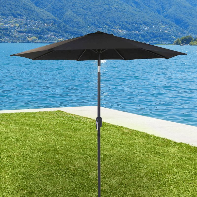 Bentley 2M Steel Black Crank Parasol