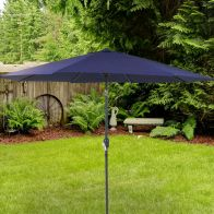 See more information about the Bentley 2.7M Blue Metal Garden Crank & Tilt Parasol