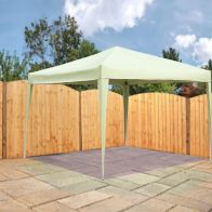 See more information about the Bentley 3m x 3m Pop Up Garden Patio Canopy Gazebo - Beige
