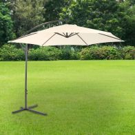 See more information about the Bentley 3M Cream Garden Hanging Banana Crank Parasol